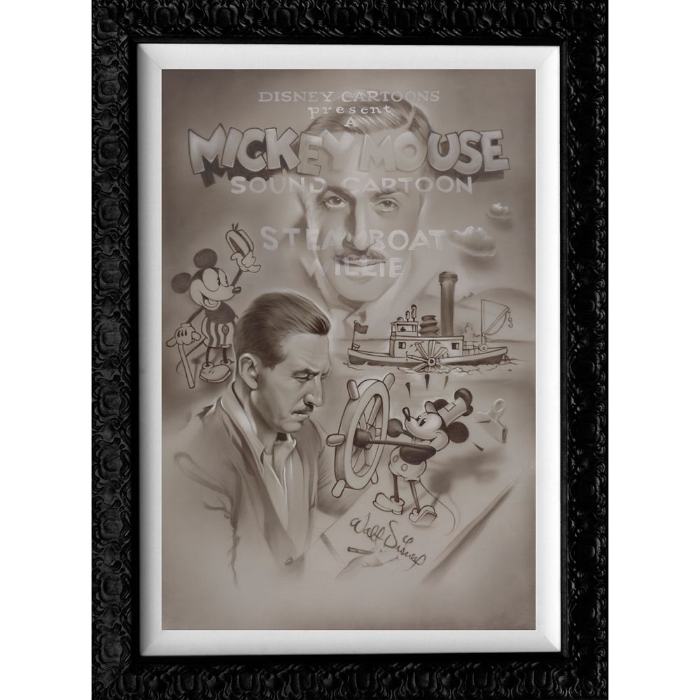 Steamboat Willie ''Full Steam Ahead'' Limited Edition Giclée by Noah