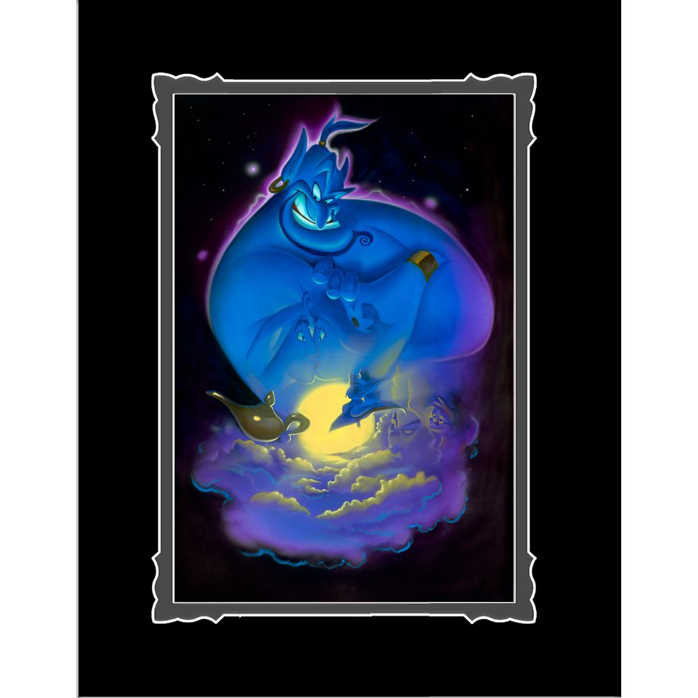 Aladdin ''Your Wish is My Command'' Deluxe Print by Noah Official shopDisney