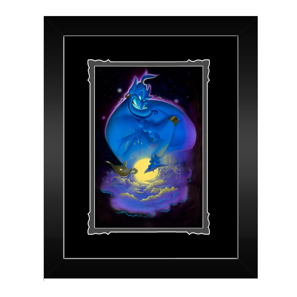 Aladdin ''Your Wish is My Command'' Framed Deluxe Print by Noah