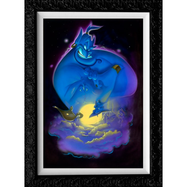 Aladdin ''Your Wish is My Command'' Limited Edition Giclée by Noah