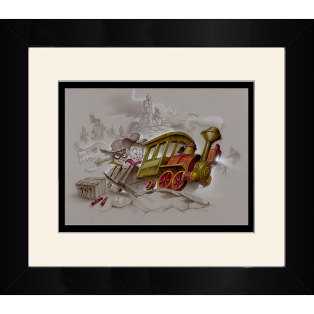 ''Growing Up'' Framed Deluxe Print by Noah
