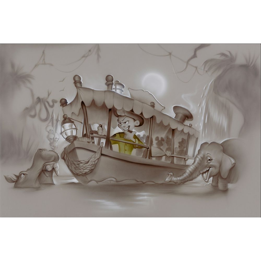 ''The 8th Wonder of the World'' Limited Edition Giclée Canvas by Noah