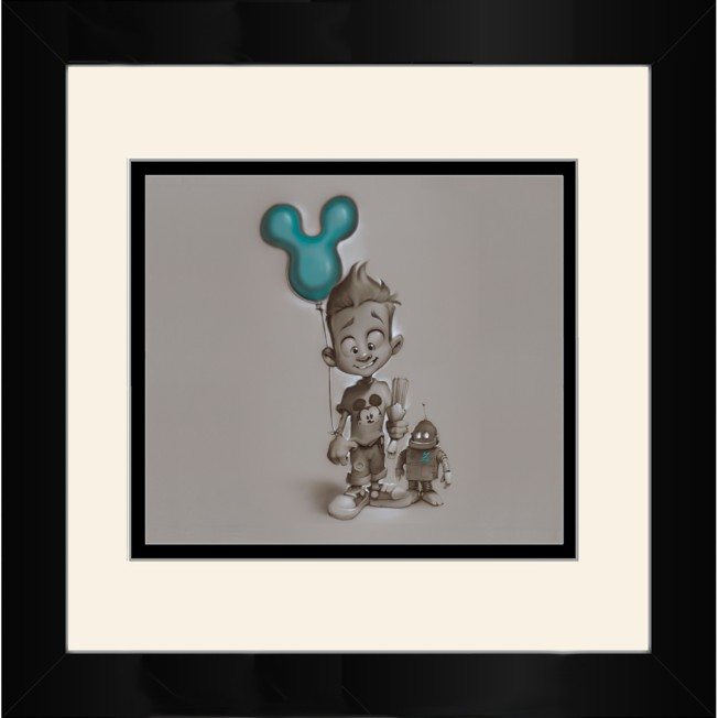 ''Refueling'' Framed Deluxe Print by Noah