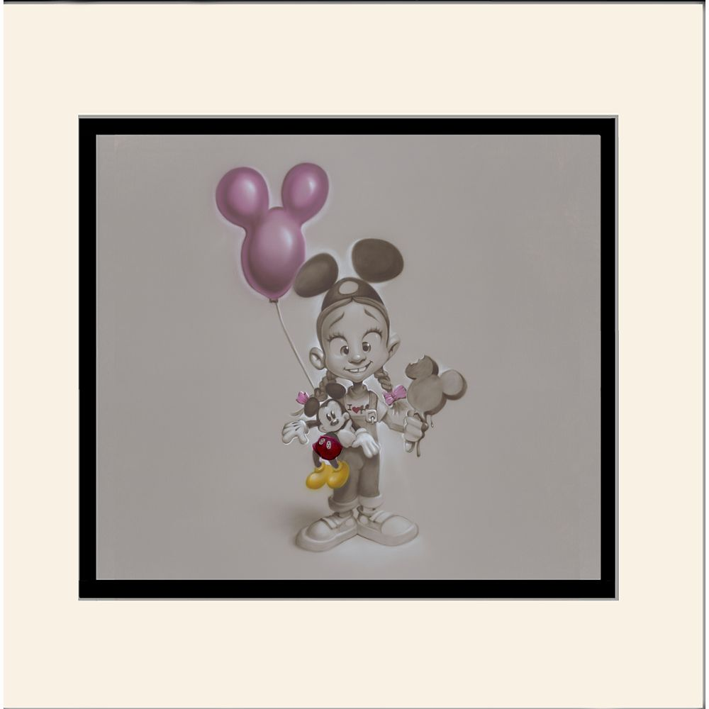 ''Making Mickey Memories'' Deluxe Print by Noah