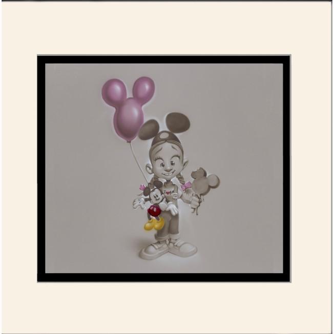 ''Making Mickey Memories'' Deluxe Print by Noah