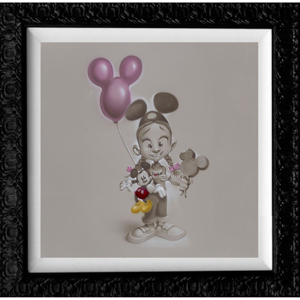 ''Making Mickey Memories'' Limited Edition Gicle Canvas by Noah Official shopDisney