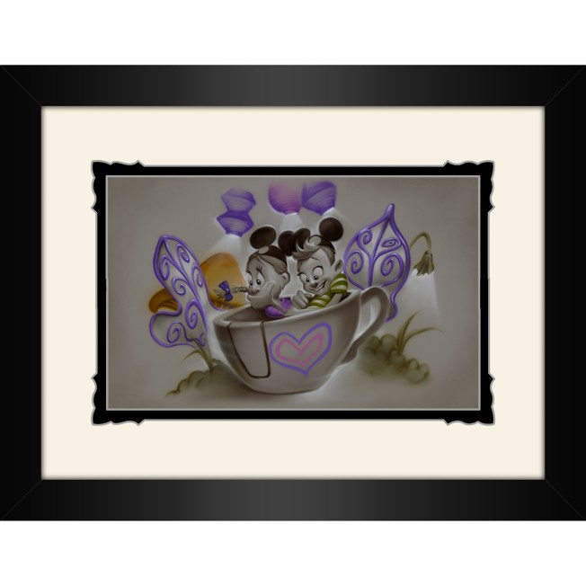 ''Quali-tea Time'' Framed Deluxe Print by Noah