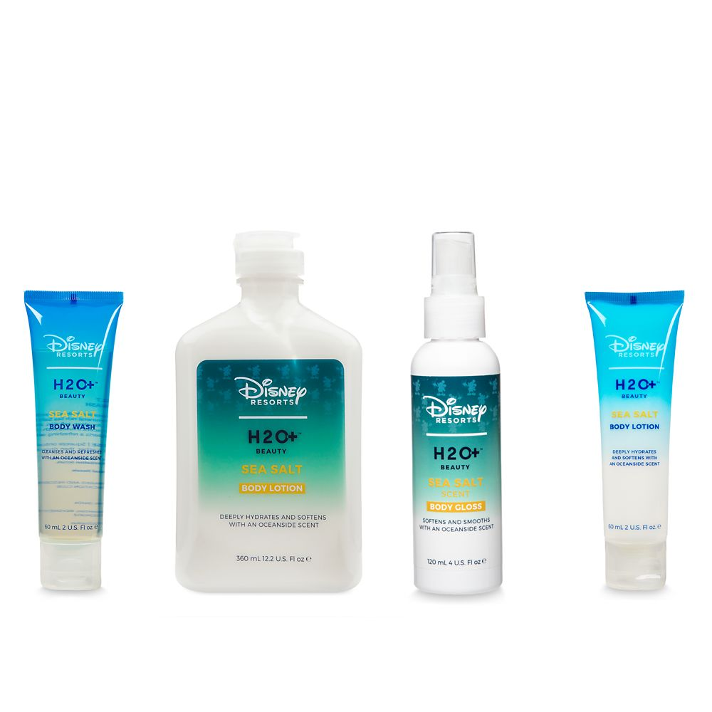 Sea Salt Body Lotion, Body Gloss, and Body Wash Set by H2O+