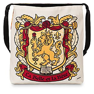 Beauty and the Beast Crest Tote - Light - Limited Availability