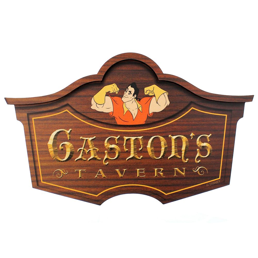 Gaston's Tavern Wall Sign – Walt Disney World