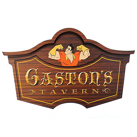 Gaston's Tavern Wall Sign - Walt Disney World