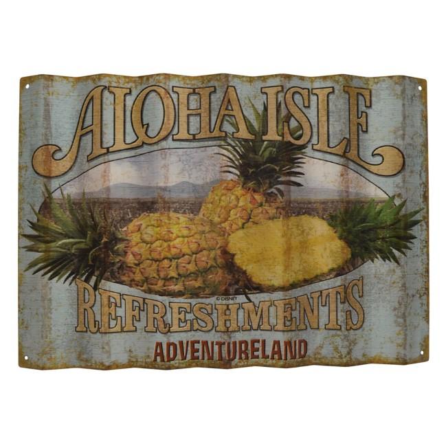 Aloha Isle Refreshments Wall Sign – Walt Disney World