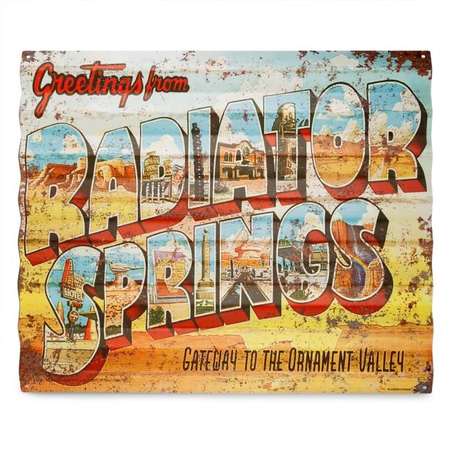 Radiator Springs Metal Sign – Cars