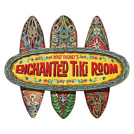 The Enchanted Tiki Room Wall Sign