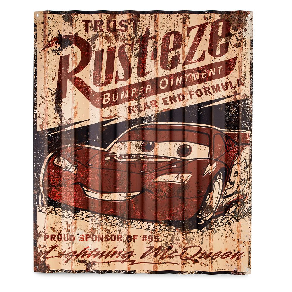 Rust-eze Metal Sign – Cars