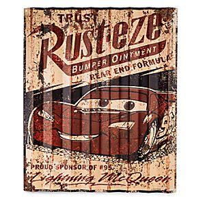 Rust-eze Metal Sign – Cars