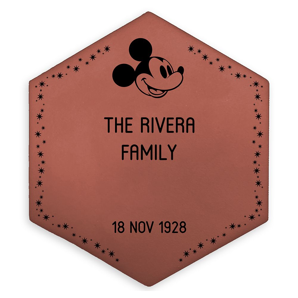 Commemorative Legacy Paver  8''  Personalized Official shopDisney