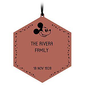 Commemorative Legacy Paver Ornament - Personalized