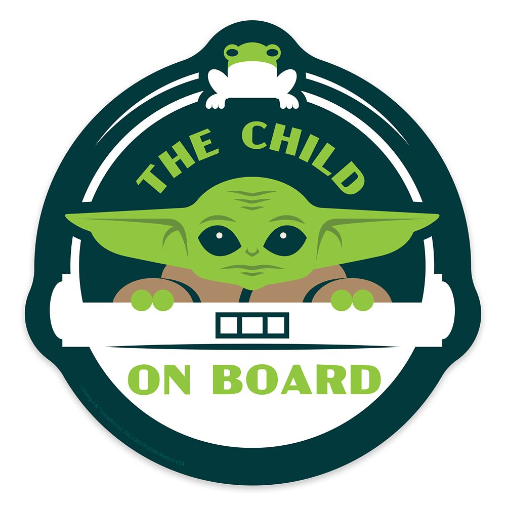 The Child ''On Board'' Car Magnet – Star Wars: The Mandalorian