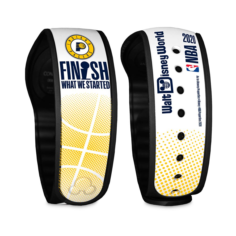 Indiana Pacers ''Finish What We Started'' MagicBand 2 – NBA Experience