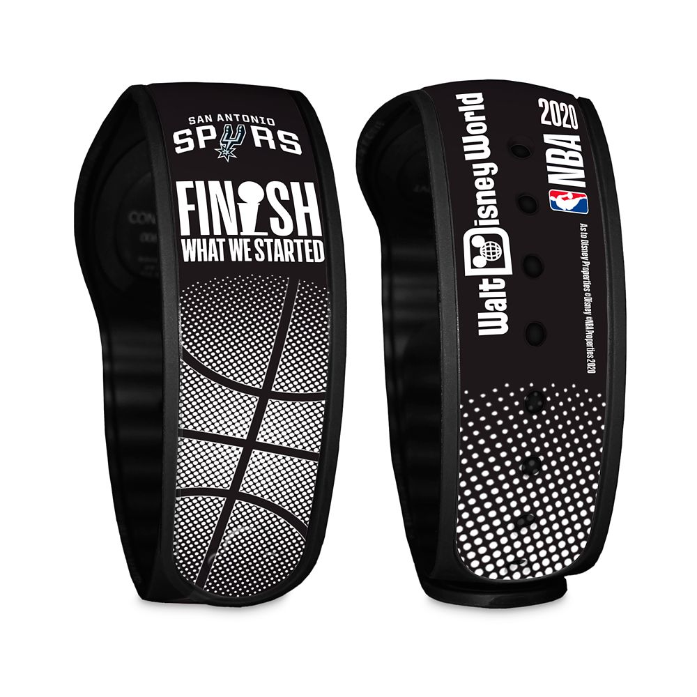 San Antonio Spurs ''Finish What We Started'' MagicBand 2 – NBA Experience