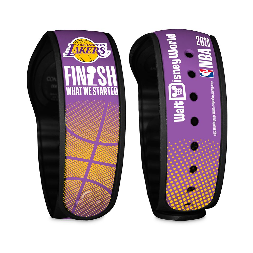 Los Angeles Lakers ''Finish What We Started'' MagicBand 2 – NBA Experience