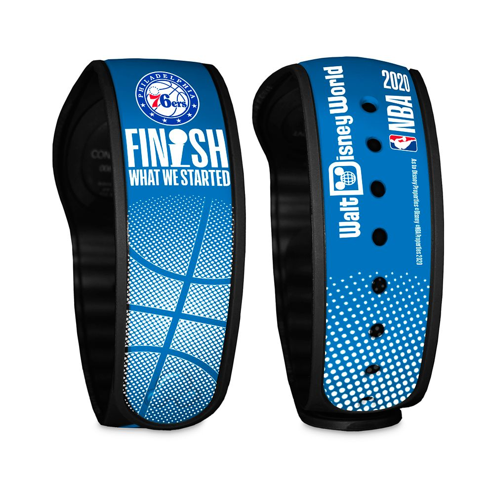 Philadelphia 76ers ''Finish What We Started'' MagicBand 2 – NBA Experience