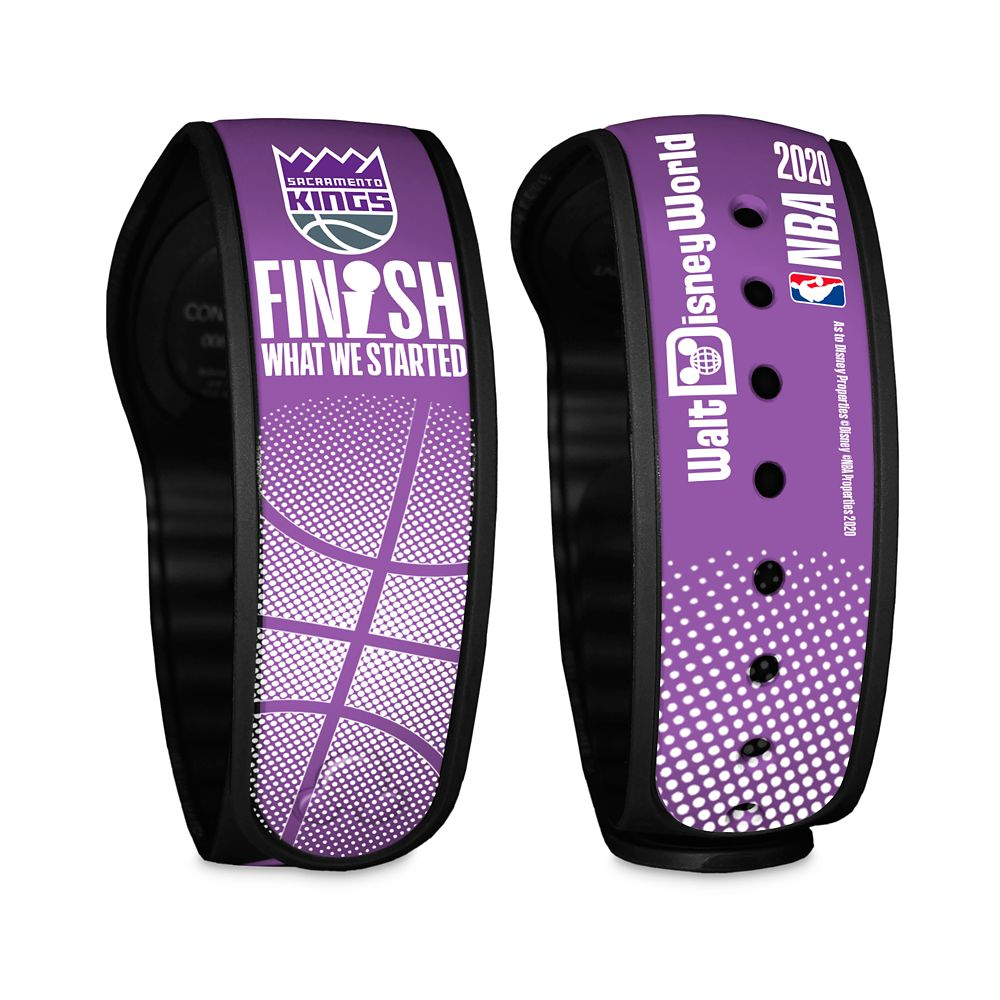 Sacramento Kings ''Finish What We Started'' MagicBand 2 – NBA Experience