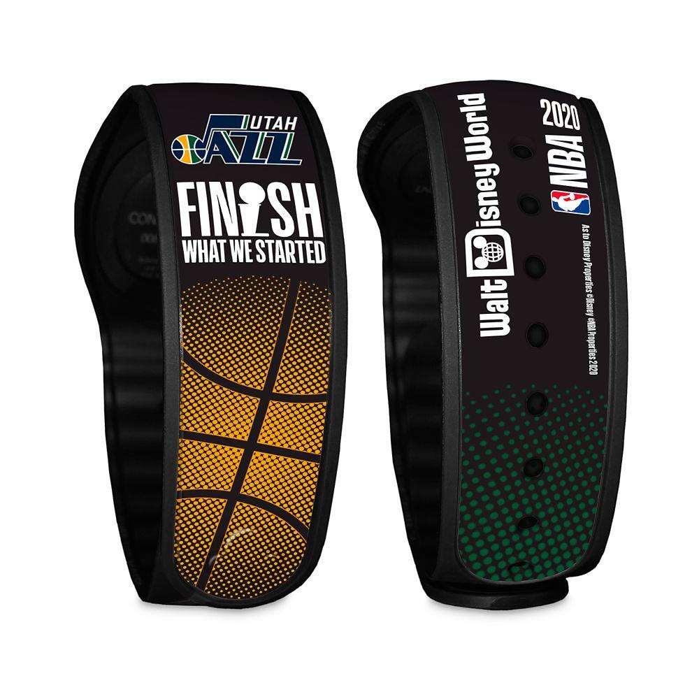 Utah Jazz ''Finish What We Started'' MagicBand 2 – NBA Experience