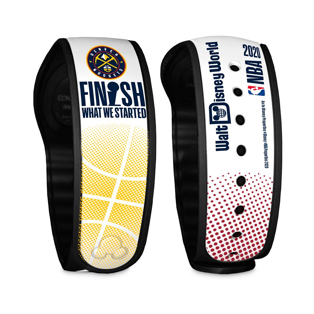 Denver Nuggets ''Finish What We Started'' MagicBand 2 – NBA Experience