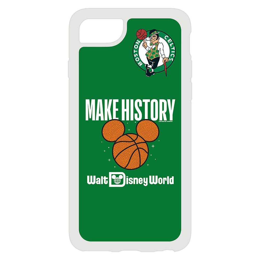 Boston Celtics ''Make History'' iPhone Case – NBA Experience