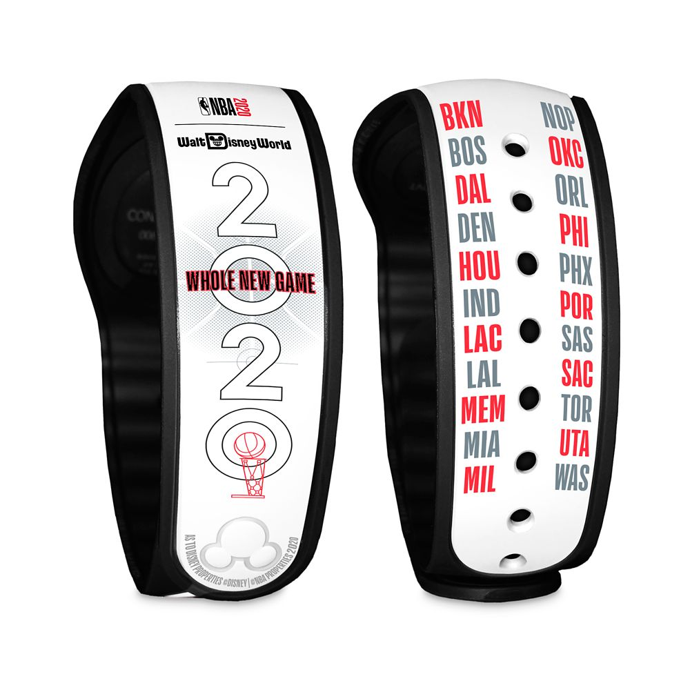 NBA 2020 ''Whole New Game'' MagicBand 2 – NBA Experience