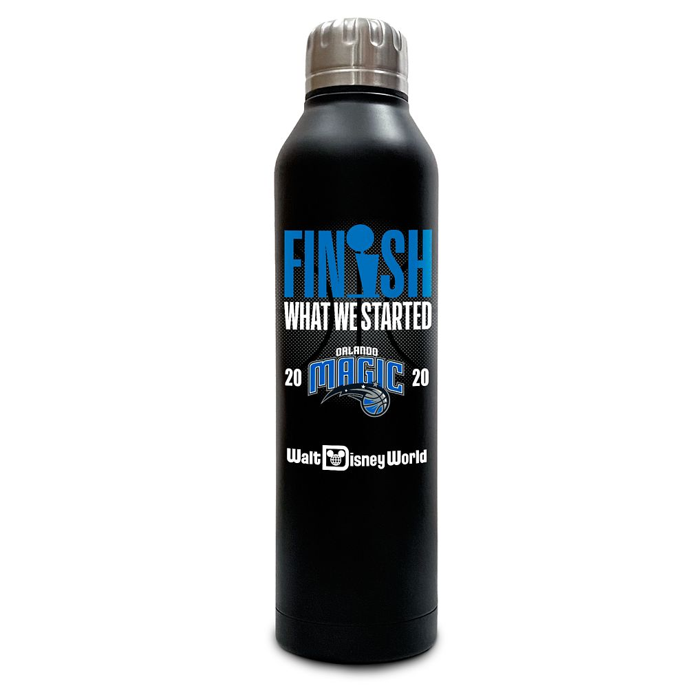 Orlando Magic ''Finish What We Started'' Stainless Steel Water Bottle – NBA Experience