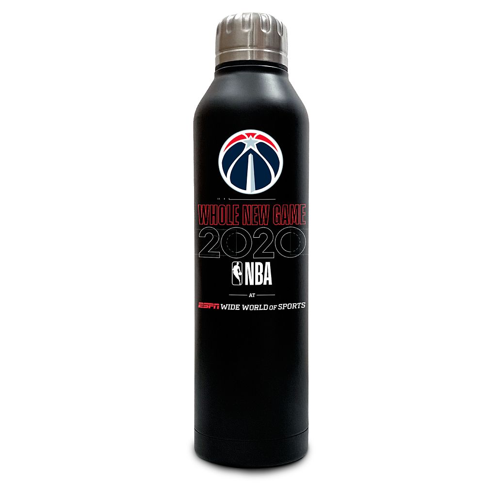 Washington Wizards ''Whole New Game'' Stainless Steel Water Bottle – NBA Experience