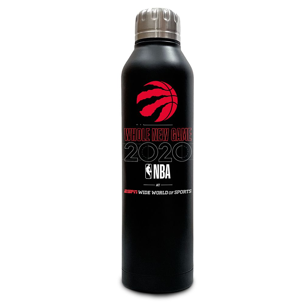 Toronto Raptors ''Whole New Game'' Stainless Steel Water Bottle – NBA Experience