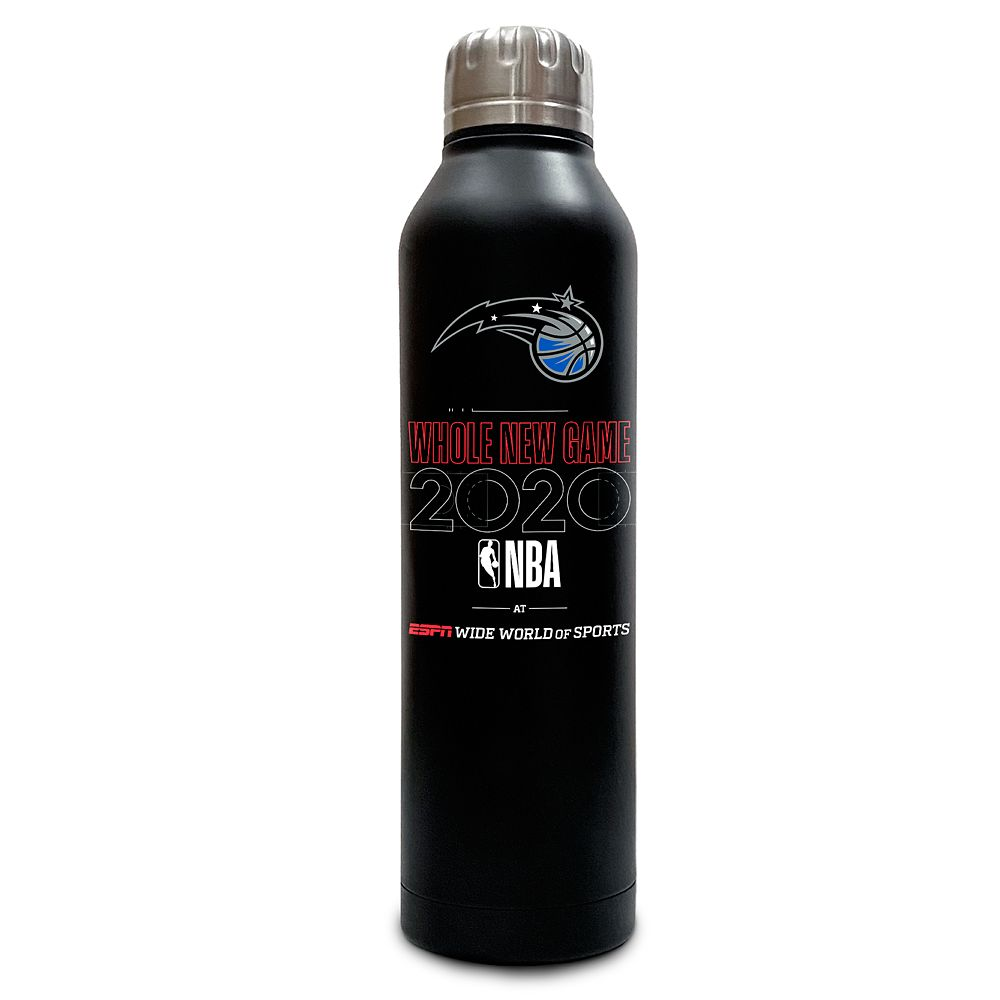 Orlando Magic ''Whole New Game'' Stainless Steel Water Bottle – NBA Experience