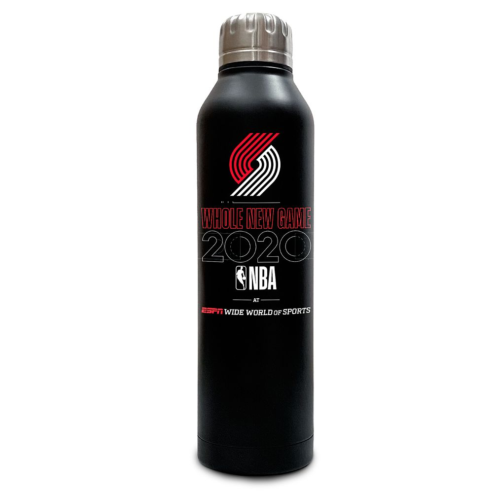 Portland Trail Blazers ''Whole New Game'' Stainless Steel Water Bottle – NBA Experience