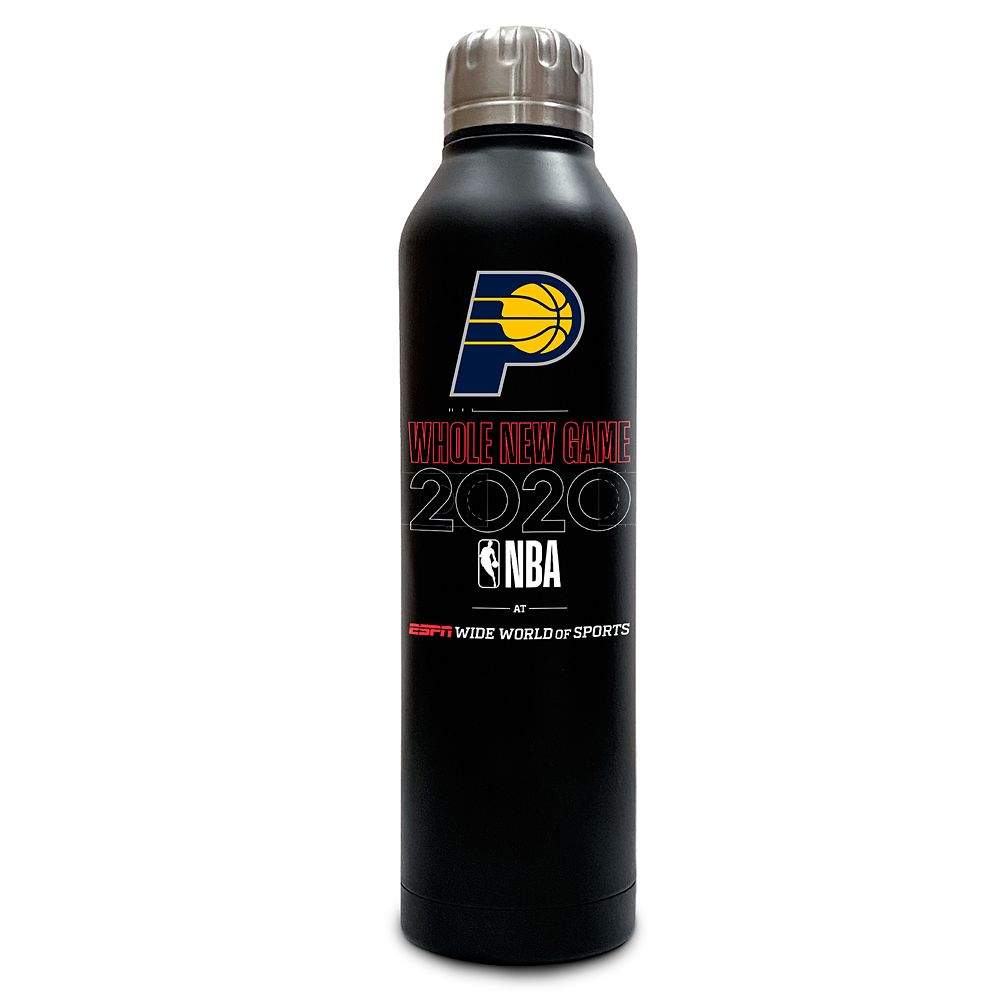Indiana Pacers ''Whole New Game'' Stainless Steel Water Bottle – NBA Experience