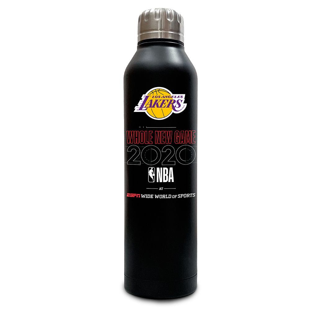 Los Angeles Lakers ''Whole New Game'' Stainless Steel Water Bottle – NBA Experience