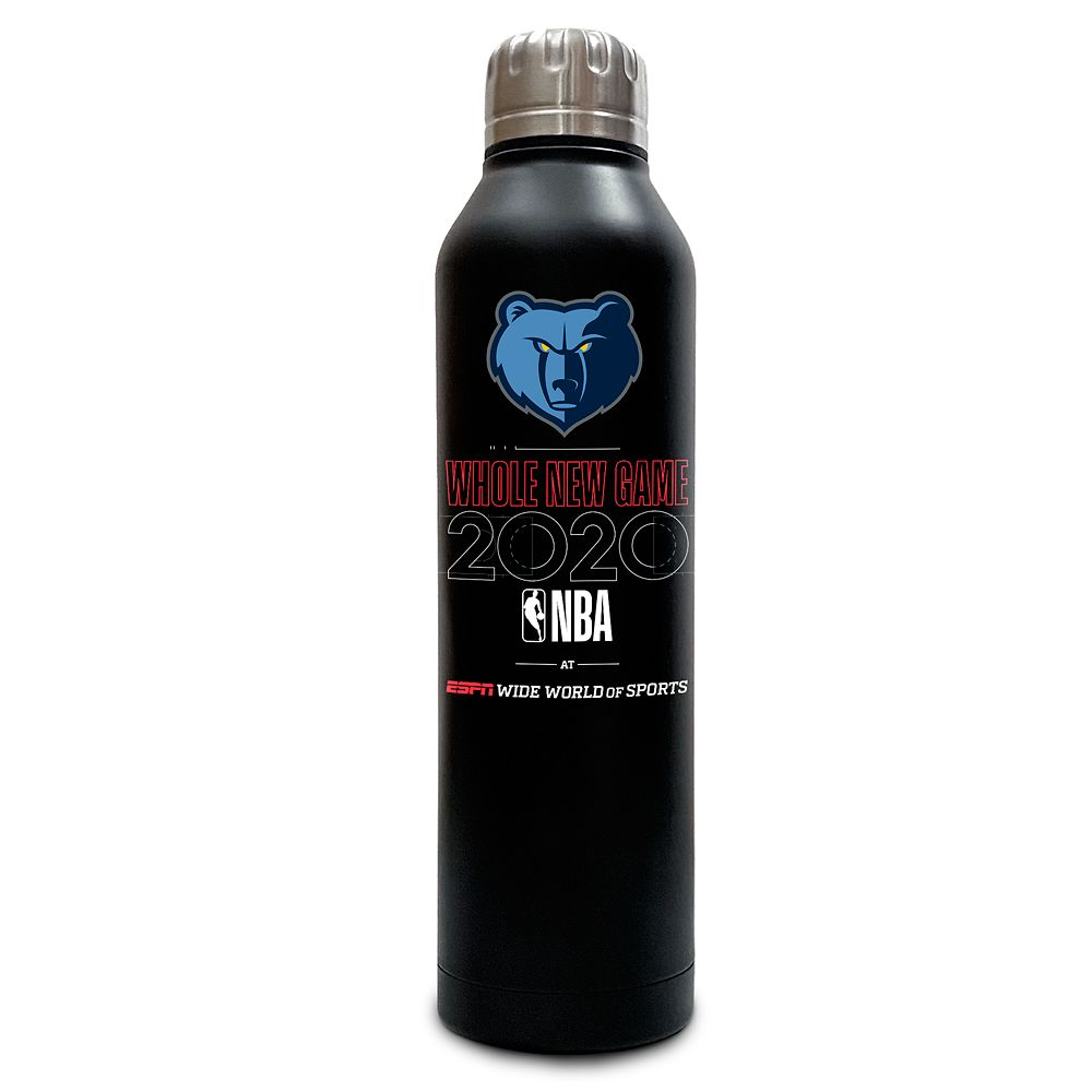 Memphis Grizzlies ''Whole New Game'' Stainless Steel Water Bottle – NBA Experience