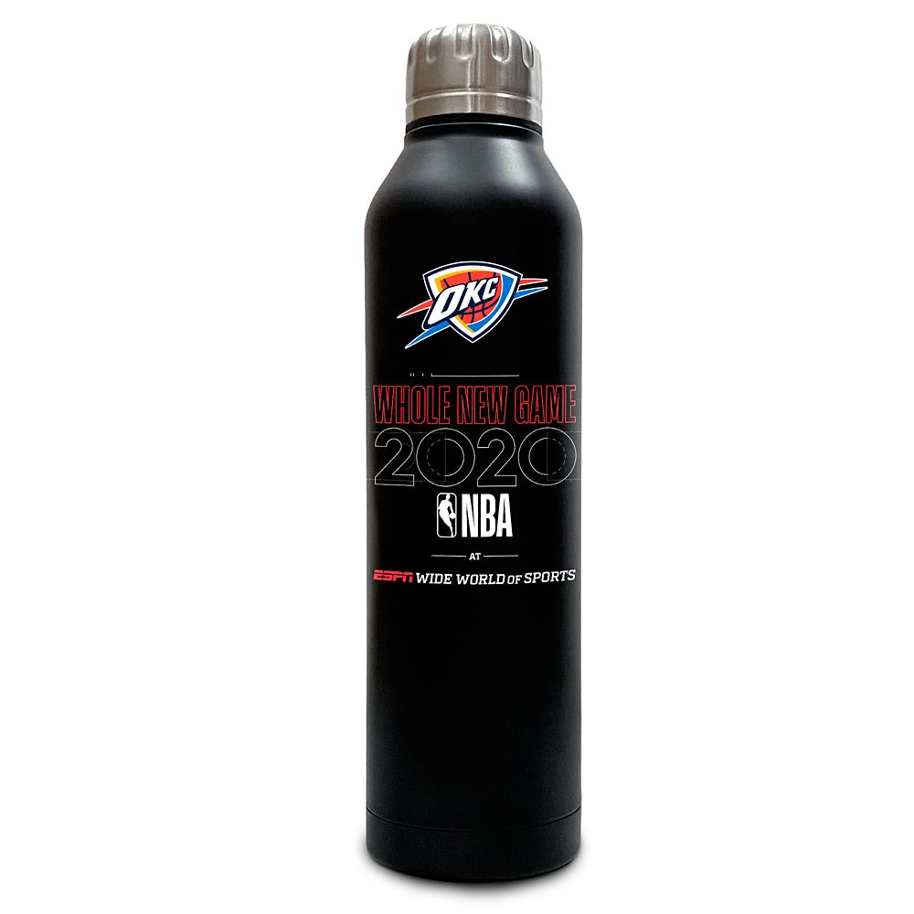 Oklahoma City Thunder ''Whole New Game'' Stainless Steel Water Bottle – NBA Experience