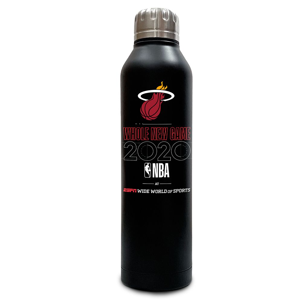 Miami Heat ''Whole New Game'' Stainless Steel Water Bottle – NBA Experience