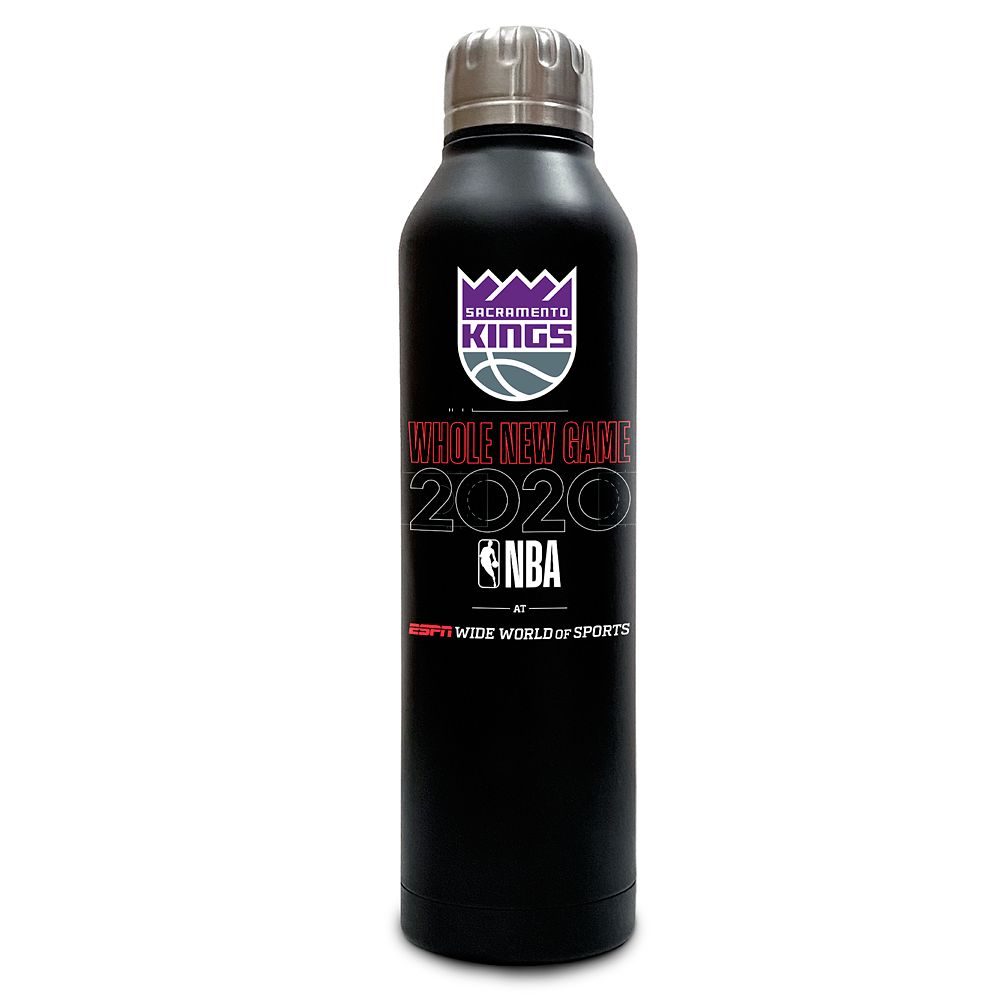 Sacramento Kings ''Whole New Game'' Stainless Steel Water Bottle – NBA Experience