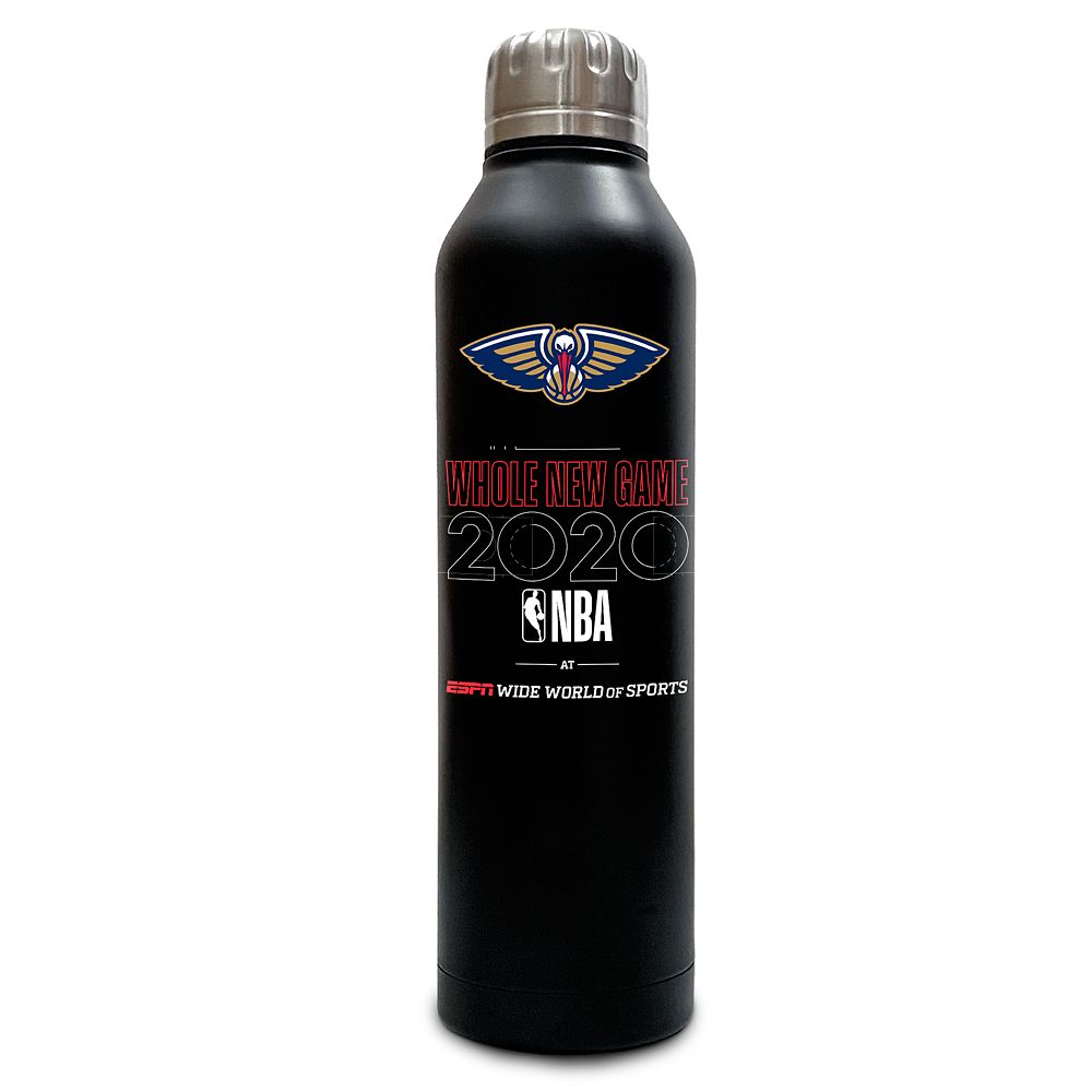 New Orleans Pelicans ''Whole New Game'' Stainless Steel Water Bottle – NBA Experience
