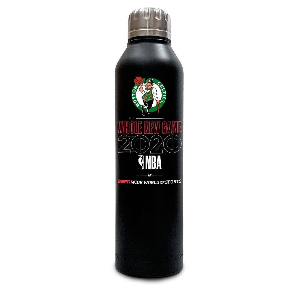 Boston Celtics ''Whole New Game'' Stainless Steel Water Bottle – NBA Experience