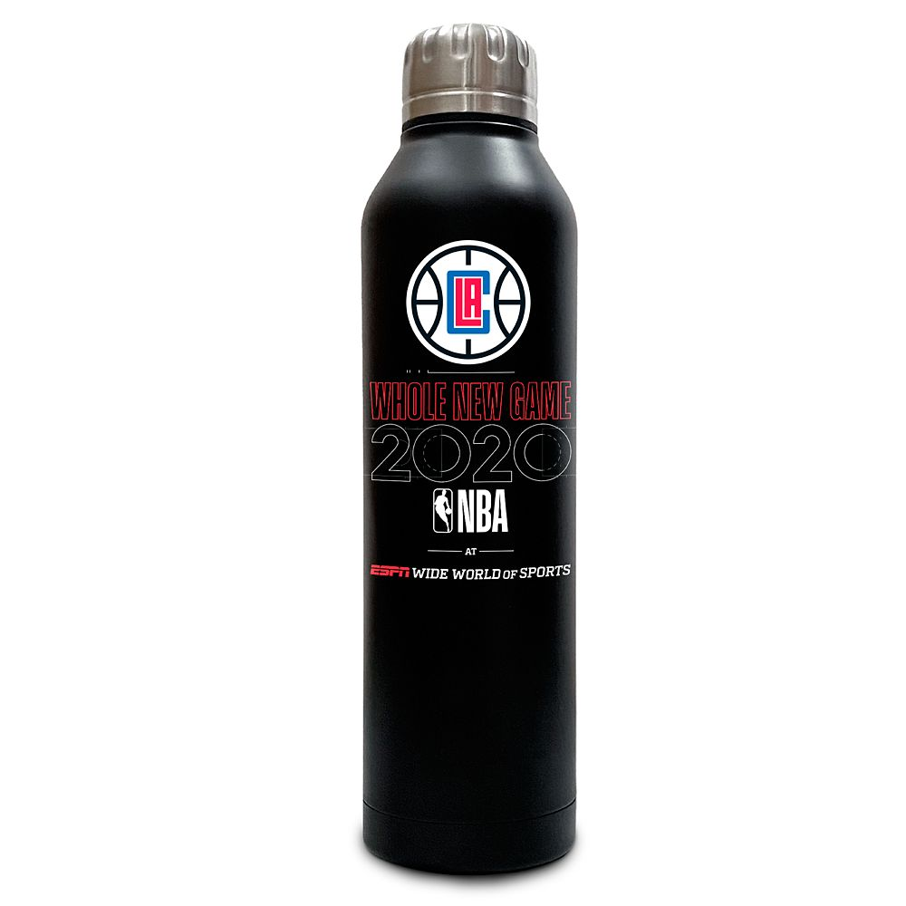 LA Clippers ''Whole New Game'' Stainless Steel Water Bottle – NBA Experience
