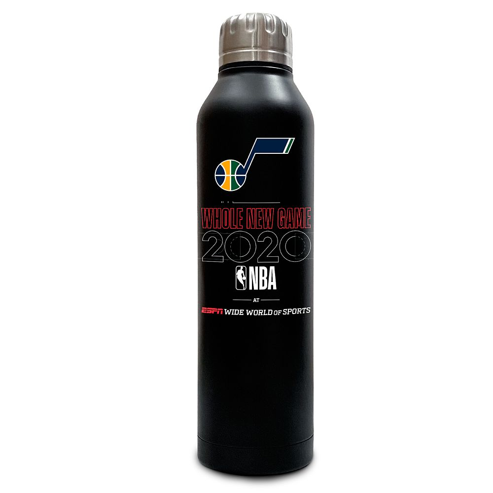 Utah Jazz ''Whole New Game'' Stainless Steel Water Bottle – NBA Experience