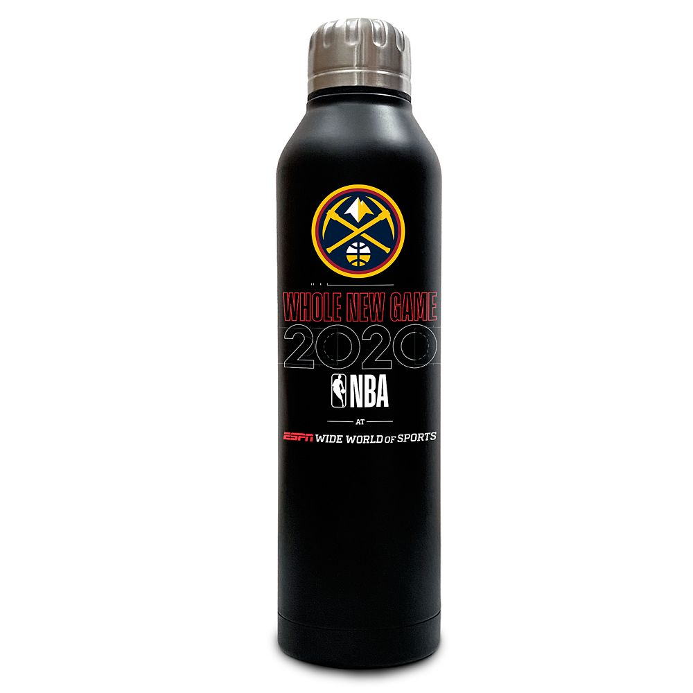Denver Nuggets ''Whole New Game'' Stainless Steel Water Bottle – NBA Experience