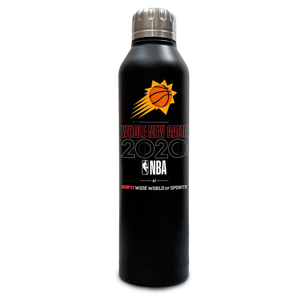Phoenix Suns ''Whole New Game'' Stainless Steel Water Bottle – NBA Experience