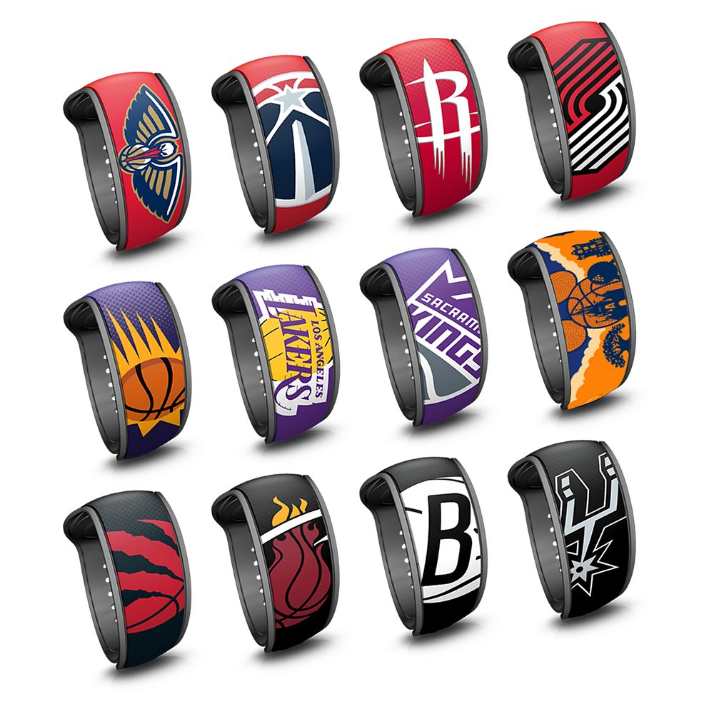 The NBA Experience MagicBand 2 Collection – Limited Edition